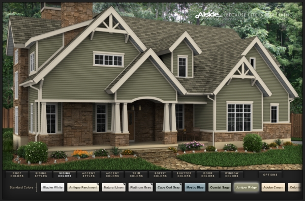 Online Virtual Siding Options Designer