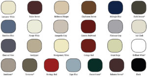 House Door Color Selections