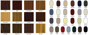 House Door Finishes and Colors