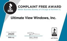 Ultimate View Windows Award Downers Grove IL