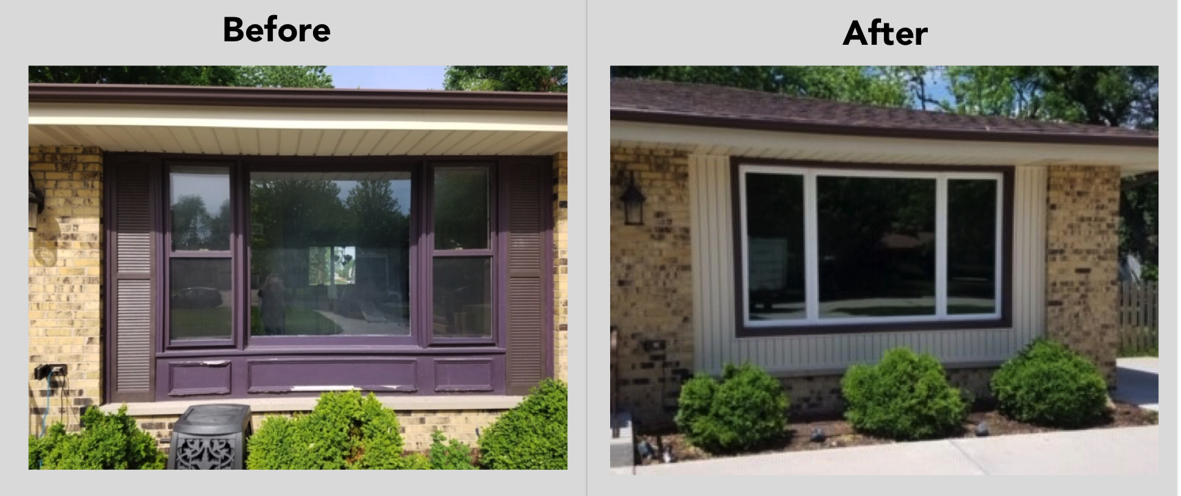 Naperville Windows Before
