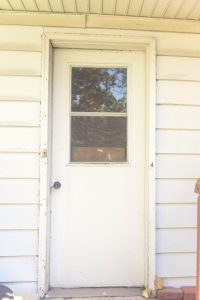 Side Service Door Installation in Lisle IL Before and After